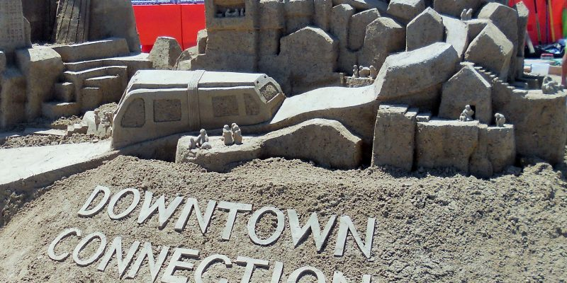 Sand Castle in San Diego