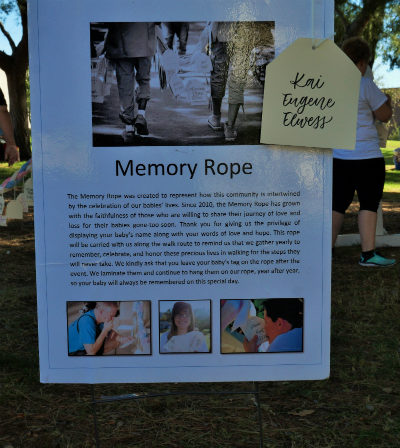 Memory Rope poster at Walk to Remember
